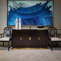 售楼处休闲区中式家具