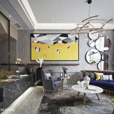 现代风格客厅装饰灯