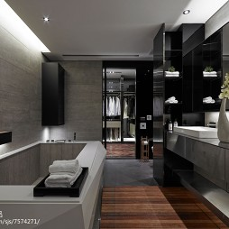 主卧带淋浴间效果图