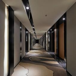 環保酒店過道地毯布置
