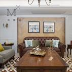 客厅沙发背景墙装修图