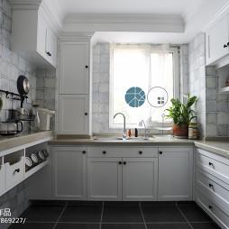 文艺白色厨房设计