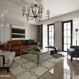 都市美式客厅地毯