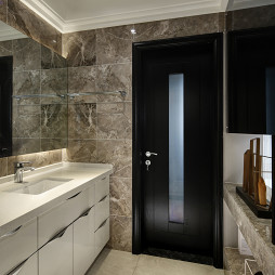现代风格卫浴门装修