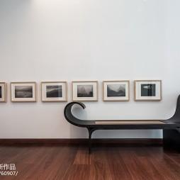 休闲会所照片墙设计