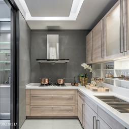 现代风格展厅厨房装修