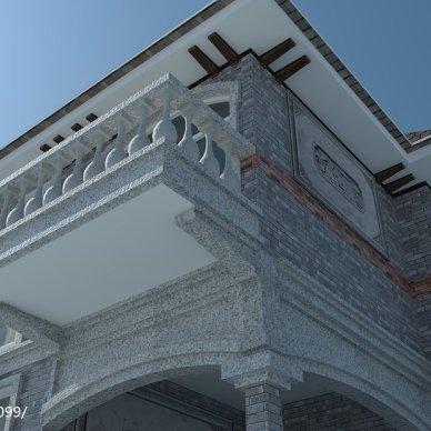 青浦威尼斯花园老屋建筑风格化改造_2730441