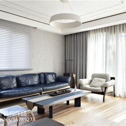 新中式风格别墅客厅