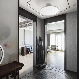 新中式风格别墅玄关
