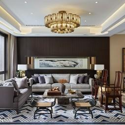 內斂沉靜中式客廳設計