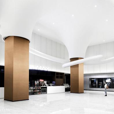超现实白色圆环 – 百川国际IMAX影城