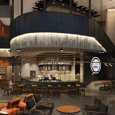 广州珠江新城咖啡西餐厅装修设计_2736197