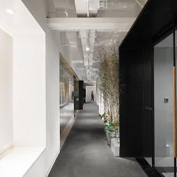办公空间过道设计案例