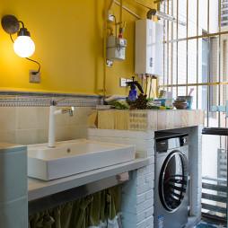 简约风格阳台洗衣机