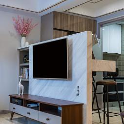 隔断式电视墙