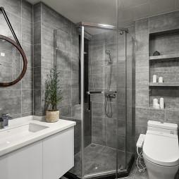 北欧风格卫浴装修案例