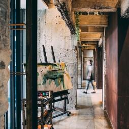 销售中心艺术走廊