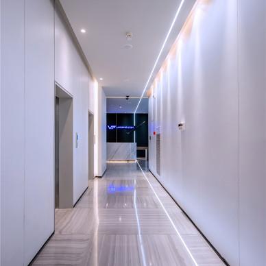 VPGAME 办公室电梯过道设计图