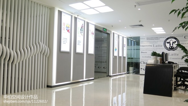 蒙牛集团公司办公室装修实景图_274