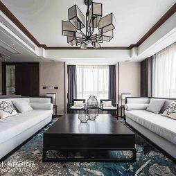 明亮中式客厅装修图片