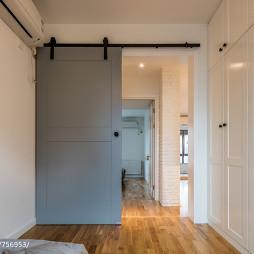 日式风格卧室大门设计图
