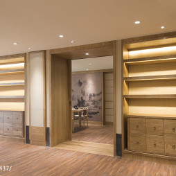 长沙正安文化学院展示柜设计图