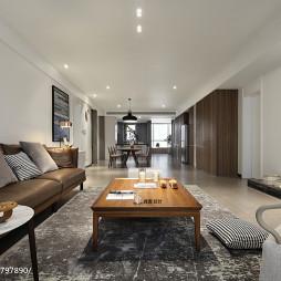 温馨简约风格客厅设计图