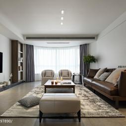 明亮简约风格客厅装修图
