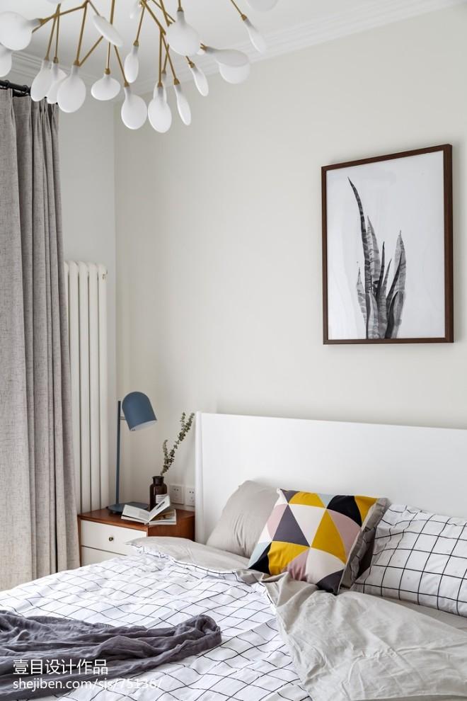 北欧风格卧室台灯设计图
