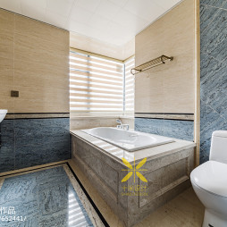 180㎡四房卫浴设计图