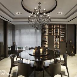豪华现代餐厅设计效果图