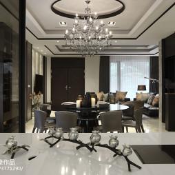 豪华现代风格餐厅设计图