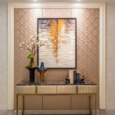 尚层国际家居 杭州家居装修 钱塘印象 摩登都市风格软装设计_2764265