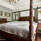 个性美式卧室装修图片