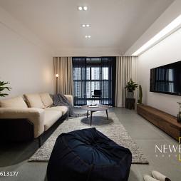 简单现代客厅设计图片