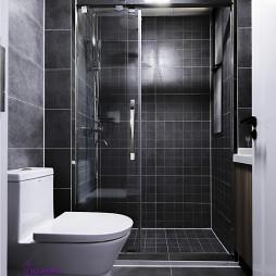 小型混搭卫浴装修图