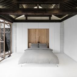 扭院儿 – 北京四合院改造 / 建筑营设计工作室卧室设计图