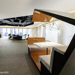 办公室内休闲区装修效果图