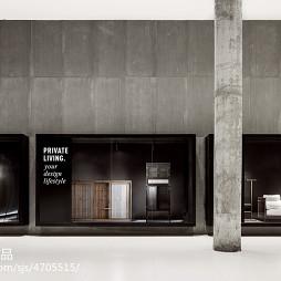 现代商场橱窗设计效果图