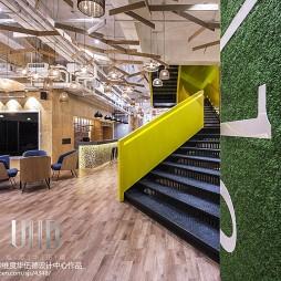 时尚办公室楼梯设计装修效果图