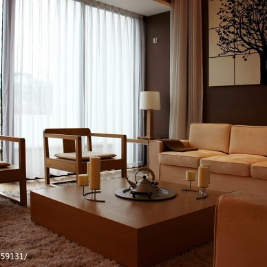 现代风格4居室_2776796