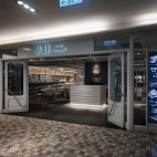 DORICIOUS餐厅大门设计图片