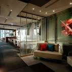 DORICIOUS餐厅休闲区设计图