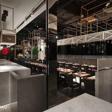 Osteria by Angie意大利餐厅吧台装修效果图