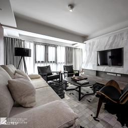 现代亮客厅设计图