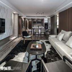 现代客厅沙发茶几组合设计图