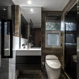 小型现代风格卫浴设计效果图