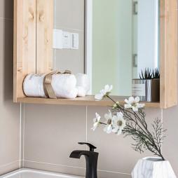 125㎡北欧卫浴储物柜设计图