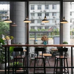 微乐多咖啡厅吧台设计图片