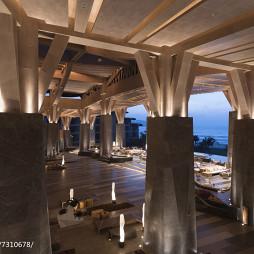 海南石梅湾威斯汀度假酒店大堂设计